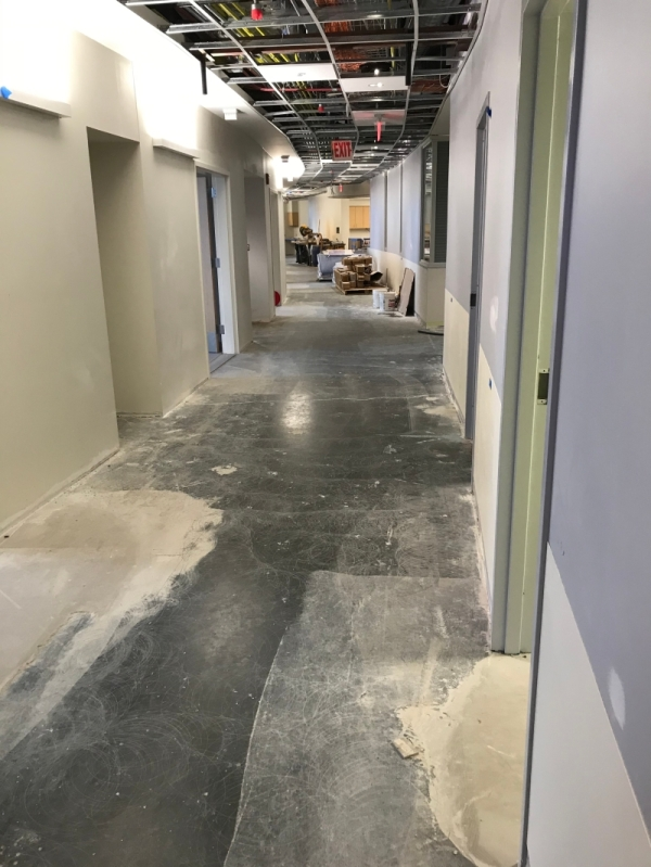 Hershey Medical Center for Spectra Contr. Flooring