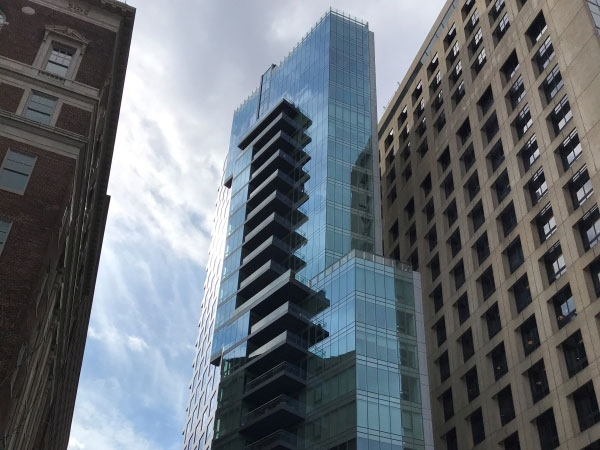 "500 Walnut St. ""The Glass Needle"" - For Intech"